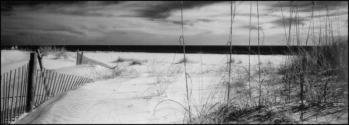 infrared film beach
