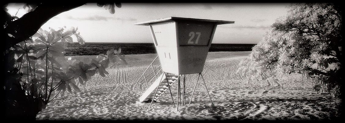 infrared film life guard station
